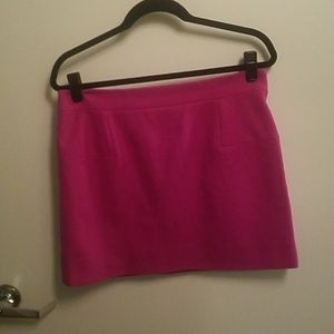 J. Crew Skirts - Fuchsia J. Crew wool skirt